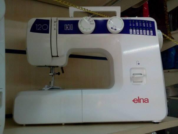 Maquina de coser Elna 120 - www.sewpatch.com