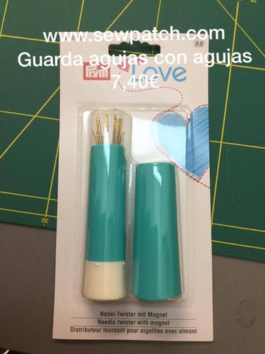 GUARDA AGUJAS ROTATORIO LOVE CON AGUJAS