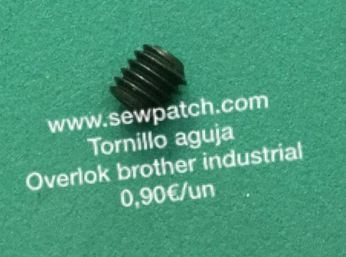 TORNILLO AGUJA OVERLOK BROTHER INDUSTRIAL