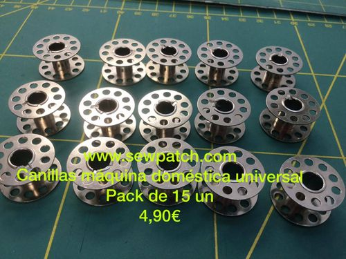 CANILLA METALICA UNIVERSAL C/B AGUJEROS, pack 15 un