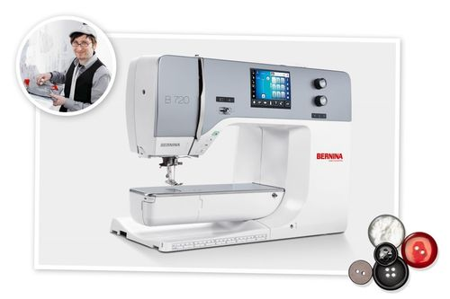 BERNINA 720, LOW SERVICE
